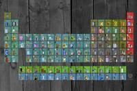 License Plate - Periodic Table Fine-Art Print