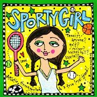 Sporty Girl Fine-Art Print