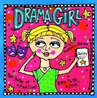 Drama Girl Fine-Art Print