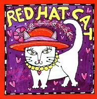 Red Hat Cat Fine-Art Print