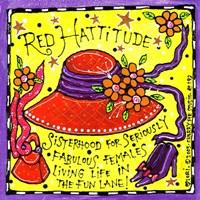 Red Hattitude Fine-Art Print