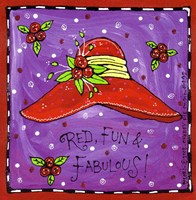 Red, Fun & Fabulous! Fine-Art Print
