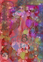 Texture - Red 8 Fine-Art Print