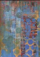 Texture - Blue Dots Fine-Art Print