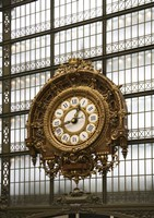 Paris Clock 1 Fine-Art Print