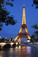 Eiffel Tower 3 Fine-Art Print