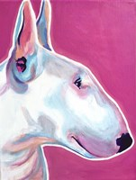 Bull Terrier - Bubble Gum Fine-Art Print