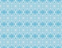 Blue Diamonds II Fine-Art Print