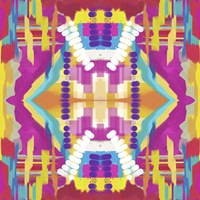 Abstract purple beads Fine-Art Print