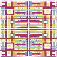 Boxes and Stripes Fine-Art Print
