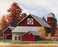 Fall Barn Fine-Art Print