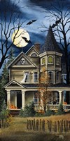 Spooky Yellow House Fine-Art Print
