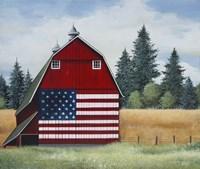 Americana Barn Fine-Art Print