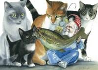 Catatomic Fine-Art Print