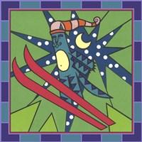 Max Cat Skiing 1 Fine-Art Print