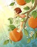Tangerine Blossom Fine-Art Print