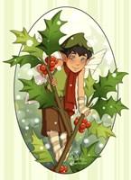 Holly Fairy Fine-Art Print