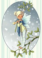 Mistletoe Fairy Fine-Art Print