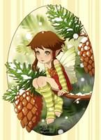 Pine Fairy Fine-Art Print