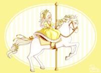 Carousel Yellow Fine-Art Print