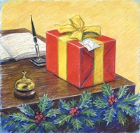 A Christmas Package Fine-Art Print