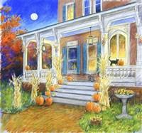 Halloween Porch Fine-Art Print