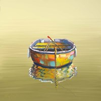 1 Boat Yellow Fine-Art Print