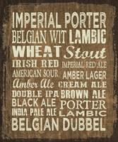 Craft Beer Sign II Fine-Art Print