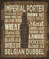 Craft Beer Sign III Fine-Art Print