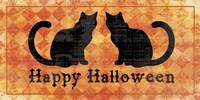 Cats - Happy Halloween Fine-Art Print
