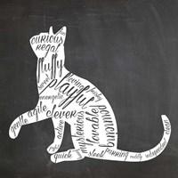 Cat - Black and White Fine-Art Print