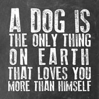Dog Love Fine-Art Print