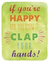 Clap Fine-Art Print