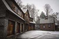 Snow Mill Fine-Art Print