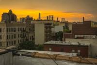 Sunset Above Fine-Art Print