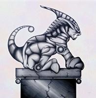 Lion Gargoyle XVI Fine-Art Print