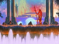 Megafuture World XXXI Fine-Art Print