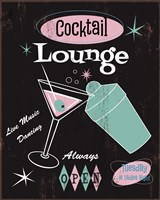 Cocktail Lounge Fine-Art Print