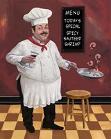 Shrimp Chef Fine-Art Print
