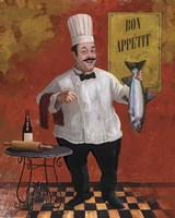 Chef Fish Master Fine-Art Print