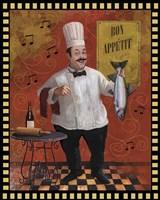 Chef Fish Master Design Fine-Art Print