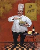 Chef Pasta Master Fine-Art Print