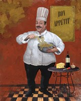 Chef Pasta Master Framed Print