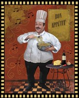 Chef Pasta Master Design Fine-Art Print