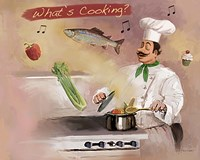 Look What's Cooking Fine-Art Print