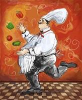 Juggler Bookends II Fine-Art Print
