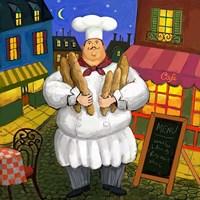 Bread Chef Master Fine-Art Print