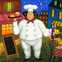 Pastry Chef Master Fine-Art Print