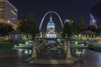 St. Louis At Night Fine-Art Print