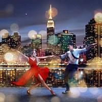 Dancin' in the Moonlight (detail) Fine-Art Print